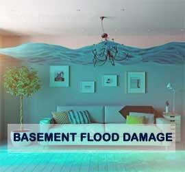 basement flood damage